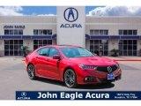 2018 San Marino Red Acura TLX V6 A-Spec Sedan #130280968