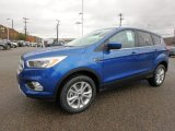 Lightning Blue Ford Escape in 2019