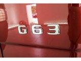 Mercedes-Benz G 2018 Badges and Logos
