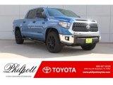 2019 Cavalry Blue Toyota Tundra TSS Off Road CrewMax 4x4 #130302700