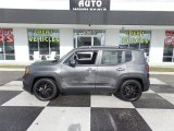 2017 Granite Crystal Metallic Jeep Renegade Latitude #130302732
