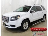 2016 Summit White GMC Acadia SLE AWD #130302780