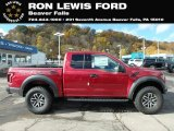 2018 Ruby Red Ford F150 SVT Raptor SuperCab 4x4 #130321169