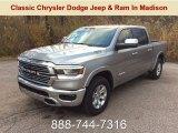 2019 Billett Silver Metallic Ram 1500 Laramie Crew Cab 4x4 #130321269
