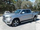 2019 Billett Silver Metallic Ram 1500 Laramie Crew Cab 4x4 #130321330