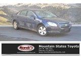 2008 Imperial Blue Metallic Chevrolet Malibu Hybrid Sedan #130321093