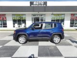 2018 Jetset Blue Jeep Renegade Latitude #130321233