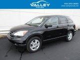 2010 Crystal Black Pearl Honda CR-V EX AWD #130341389