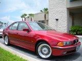 Siena Red Metallic BMW 5 Series in 2000