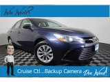 Blue Crush Metallic Toyota Camry in 2015