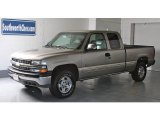 2000 Light Pewter Metallic Chevrolet Silverado 1500 LT Extended Cab 4x4 #13019215