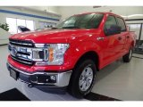 2018 Race Red Ford F150 XLT SuperCrew 4x4 #130368727