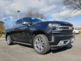 2019 Black Chevrolet Silverado 1500 High Country Crew Cab 4WD #130381701