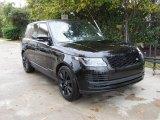 2019 Land Rover Range Rover Santorini Black Metallic