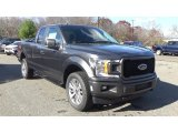 2018 Magnetic Ford F150 XL SuperCab 4x4 #130387538