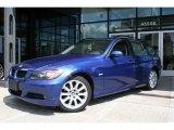 2007 Montego Blue Metallic BMW 3 Series 328xi Wagon #1301619