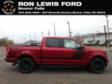 2019 Ruby Red Ford F150 XLT Sport SuperCrew 4x4 #130416215