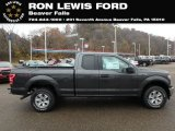 2018 Magnetic Ford F150 XLT SuperCab 4x4 #130416214