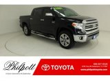 2017 Midnight Black Metallic Toyota Tundra 1794 CrewMax 4x4 #130416261