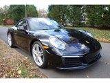 2017 Porsche 911 Jet Black Metallic