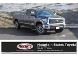 2019 Magnetic Gray Metallic Toyota Tundra SR5 Double Cab 4x4 #130416174