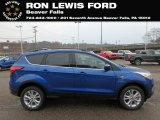 2019 Lightning Blue Ford Escape SEL 4WD #130416220