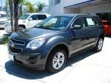 2010 Cyber Gray Metallic Chevrolet Equinox LS #13019168