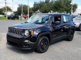 2017 Black Jeep Renegade Sport #130431214
