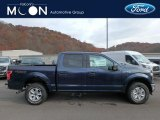 2018 Blue Jeans Ford F150 XLT SuperCrew 4x4 #130431110