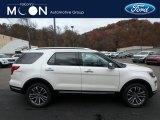 2019 White Platinum Ford Explorer Platinum 4WD #130431109