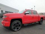 2018 Red Hot Chevrolet Silverado 1500 LTZ Crew Cab 4x4 #130431068