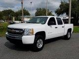 2011 Summit White Chevrolet Silverado 1500 LS Crew Cab #130431207