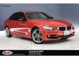 2015 Melbourne Red Metallic BMW 3 Series 328i Sedan #130431124