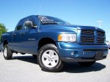 2002 Atlantic Blue Pearl Dodge Ram 1500 SLT Quad Cab 4x4 #12999614