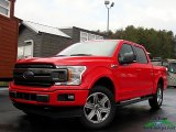 2018 Race Red Ford F150 XLT SuperCrew 4x4 #130447609