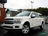 2018 White Platinum Ford F150 Platinum SuperCrew 4x4 #130447607