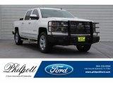 2014 Summit White Chevrolet Silverado 1500 LTZ Crew Cab #130462394