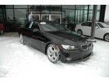 2007 Black Sapphire Metallic BMW 3 Series 335i Convertible #1301598