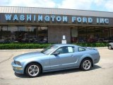 2006 Windveil Blue Metallic Ford Mustang GT Premium Coupe #13015295
