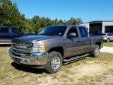 2013 Graystone Metallic Chevrolet Silverado 1500 LT Crew Cab #130483498
