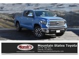 2019 Cavalry Blue Toyota Tundra Limited CrewMax 4x4 #130483093