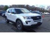 2019 White Platinum Ford Explorer Sport 4WD #130482831