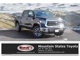 2019 Midnight Black Metallic Toyota Tundra SR5 CrewMax 4x4 #130483076