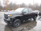 2019 Black Chevrolet Silverado 1500 Custom Z71 Trail Boss Double Cab 4WD #130483290