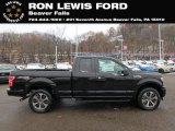 2019 Agate Black Ford F150 STX SuperCab 4x4 #130483212