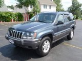 2002 Steel Blue Pearlcoat Jeep Grand Cherokee Laredo 4x4 #13010663