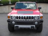2009 Victory Red Hummer H3  #13004563