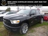 2019 Diamond Black Crystal Pearl Ram 1500 Big Horn Crew Cab 4x4 #130543770