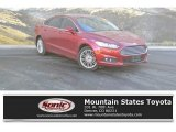 2016 Ruby Red Metallic Ford Fusion SE AWD #130543722