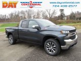 2019 Shadow Gray Metallic Chevrolet Silverado 1500 LT Z71 Double Cab 4WD #130543760